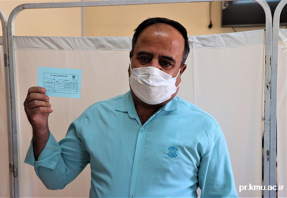 d (9)-گزارشی از روند فعالیت مراکز واکسیناسیون در سه شهرستان راور،کوهبنان و زرند