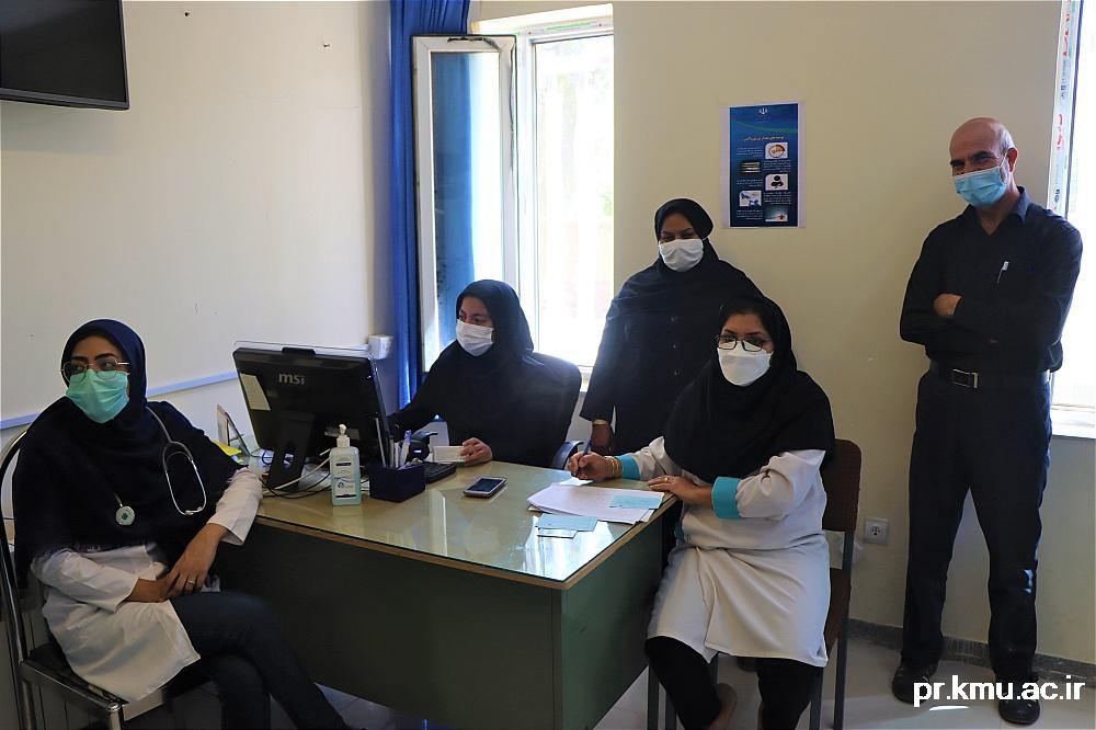 e (3)-گزارشی از روند فعالیت مراکز واکسیناسیون در سه شهرستان راور،کوهبنان و زرند