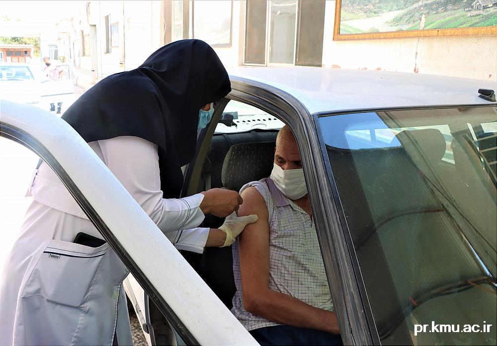 g (1)-گزارشی از روند فعالیت مراکز واکسیناسیون در سه شهرستان راور،کوهبنان و زرند