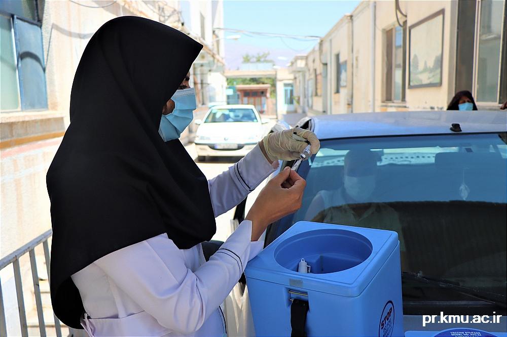 g (8)-گزارشی از روند فعالیت مراکز واکسیناسیون در سه شهرستان راور،کوهبنان و زرند