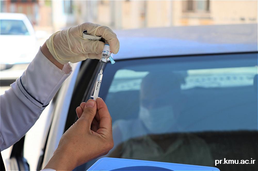 g (9)-گزارشی از روند فعالیت مراکز واکسیناسیون در سه شهرستان راور،کوهبنان و زرند