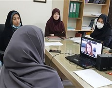 Holding the second video-conference with Dublin City University (DCU)