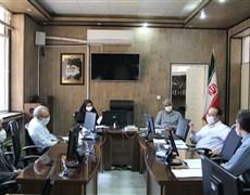جلسه بررسی چالشهای مربوط به رعایت پروتکل های بهداشتی برگزار شد