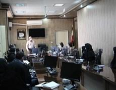 برگزاری نشست هم اندیشی عوامل اجتماعی موثر بر سلامت در مرکز بهداشت شهرستان کرمان