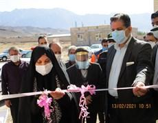 افتتاح دوباب منزل زیست پزشک در شهرستان کوهبنان