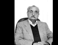 پیام تسلیت دکتر مجید هاشمی،در پی درگذشت دکترمنصور غیاث الدین