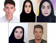 دانشجویان رشته بیولوژی و کنترل ناقلین بیماریها دانشکده بهداشت کرمان موفق به کسب رتبه های برتر در آزمون کارشناسی ارشد پزشکی شدند.