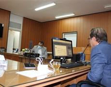 جلسه مدیریت دانشکده بهداشت با اعضاء محترم هیات علمی