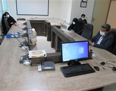 بازدید تیم ستاد امر به معروف و نهی از منکر دانشکاه از دانشکده طب سنتی ایرانی