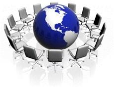 جلسه مدیر گروه مدیریت، سیاستگذاری و اقتصاد سلامت با دانشجویان دکتری
