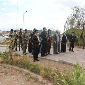 تجلیل سبز پوشان حریم امنیت از سفید پوشان جبهه سلامت شهرستان رابر