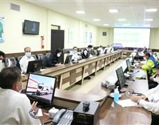 برگزاری جلسه نتایج ارزیابی مراکز اورژانس پیش بیمارستانی استان کرمان
