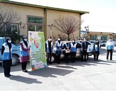 برگزاری اجرای مانوربسیج سلامت نوروزی طرح شهید سلیمانی در شبکه و مرکز بهداشت بافت