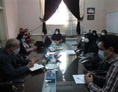 بازدید تیم نظارت معاونت بهداشتی از اجرای گام پنجم طرح شهید سلیمانی مرکز بهداشت شهرستان راور