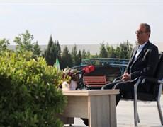 ویژه برنامه ولادت امام حسن مجتبی(ع) سخنرانی دکتر ستایش رئیس دانشکده طب سنتی
